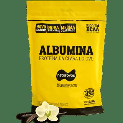 Albumina Baunilha pcte 500g Naturovos