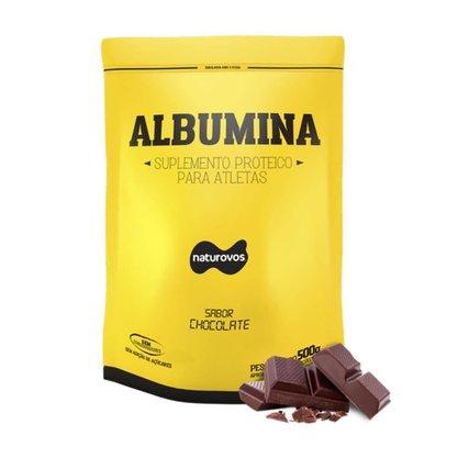 Albumina Chocolate pcte 500g Naturovos
