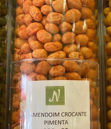 Amendoim Crocante Pimenta a Granel (100g)