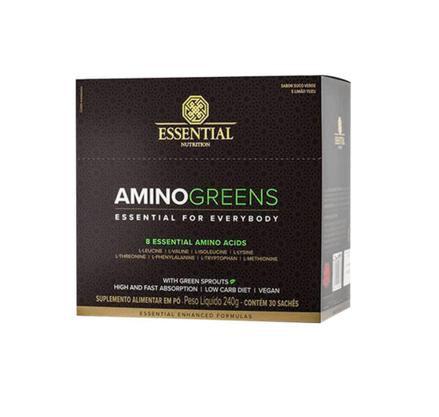 Aminogreens Caixa com 30 Sachês Essential