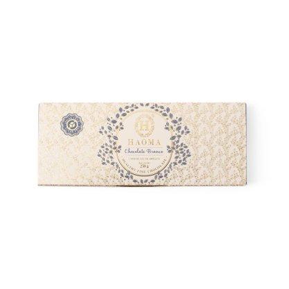 Barra Chocolate Branco Com Recheio Avelã 250g Haoma