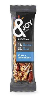Barra Joy Protein Nuts Sabor Coco e Amendoa Agtal 35g