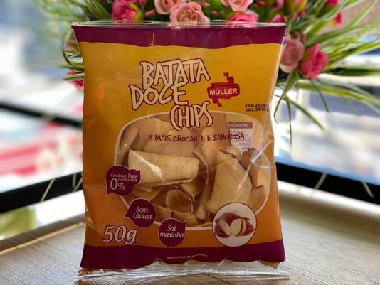 Batata Doce Chips 50g
