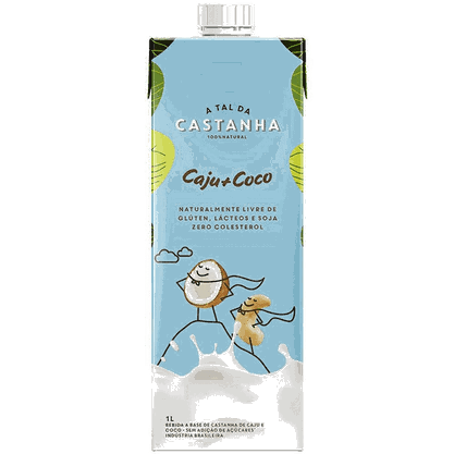 Bebida vegetal caju  coco a Tal da Castanha 1l