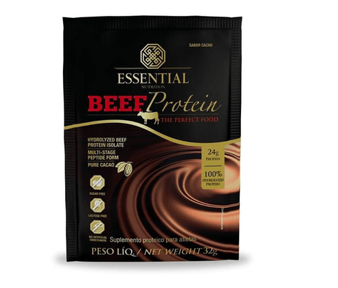 Beef Protein Cacao Sachê 32g Essential