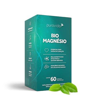 Bio Magnésio 60 cápsulas Pura Vida