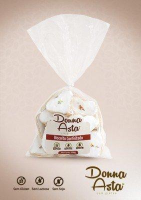 Biscoito confeitado s/gluten donna asta