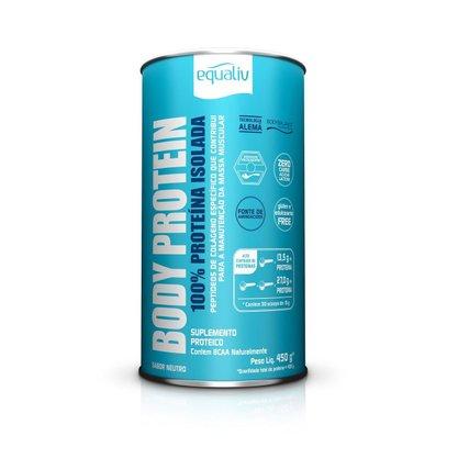 Body Protein 450g Sabor Neutro Equaliv