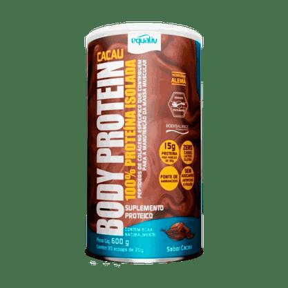 Body Protein 600g Cacau Equaliv