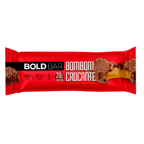 Barrinha Bombom Crocante 60g Bold Bar