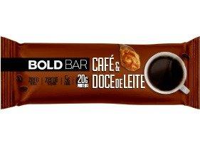 Barrinha Café & Doce de Leite 60g Bold Bar