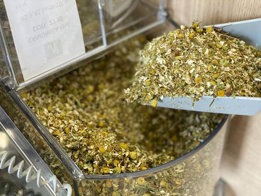 Chá de Flor Camomila a Granel  (100g)