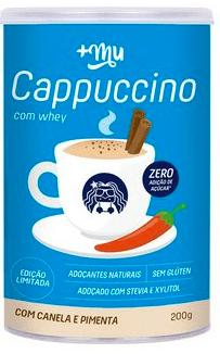 Cappuccino c/ Canela e Pimenta +Mu 200g