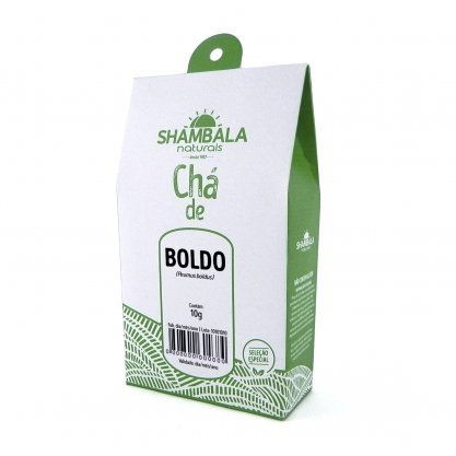 Chá de Boldo do  Chile cha 10g Shambala