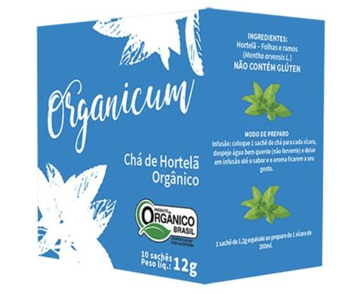 Chá de Hortelã Orgânico 10 sachês 12g