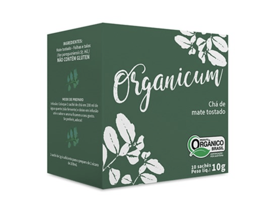 Chá Mate Tostato Orgânico 10 sachês 10g