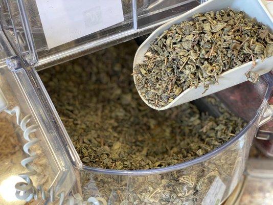 Chá Verde Import. a granel - 100g