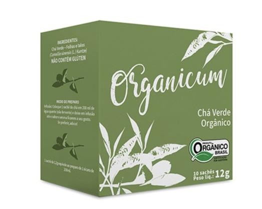Chá Verde Orgânico 10 sachês 13g