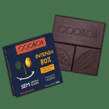 Chocolate Intenso 80%  30g Cookoa