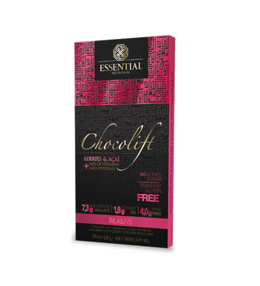 Chocolift be alive barra 40g Essential