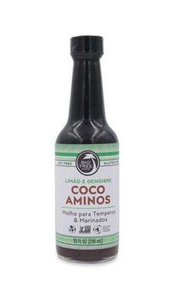 Coco aminos Limão e gengibre 296 ml big tree