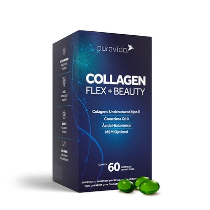 Collagen flex+beauty Puravida 60 capsulas