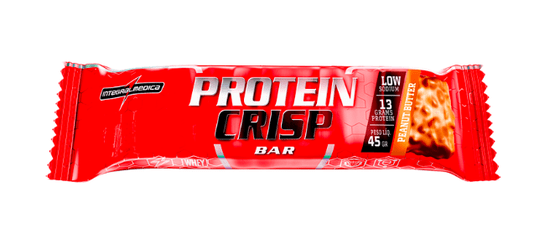 Protein Crisp Bar - Amendoim  - Integral Medica
