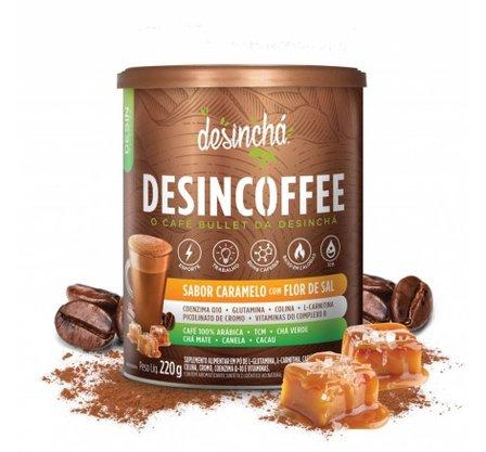 Desincoffee Sabor Caramelo com Flor de Sal 220g Desinchá