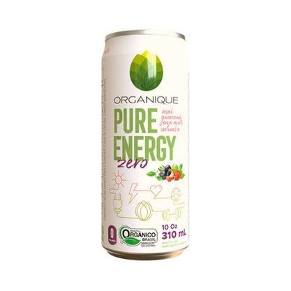 Energético Orgânico Zero Açúcar com Açaí, Mate, Guaraná e Catuaba 310ml Organique