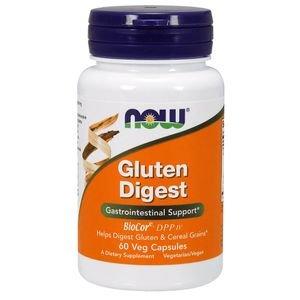Enzimas Digestivas de Glúten 60 cap Now