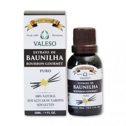 Extrato de Baunilha 30ml Valeso