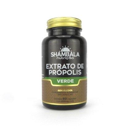 Extrato de Própolis Verde sem Álcool Shambala 60 cáps