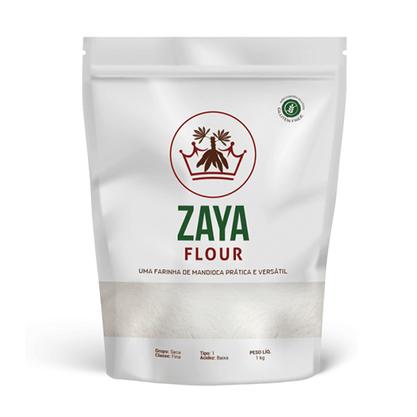 Farinha de Mandioca tipo 1 Zaya 1 kg