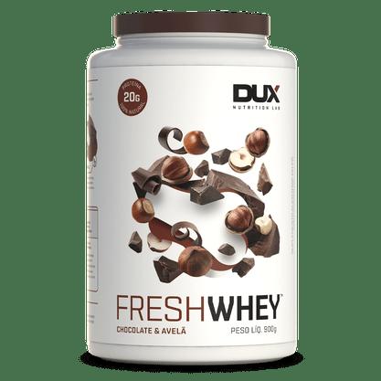 Fresh Whey Chocolate e Avelã Dux Nutrition 900g