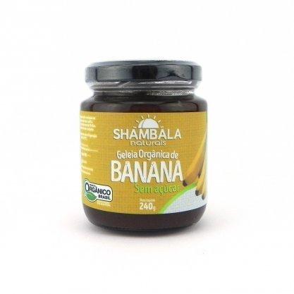 Geléia de Banana Orgânica Sem  Açúcar Shambala