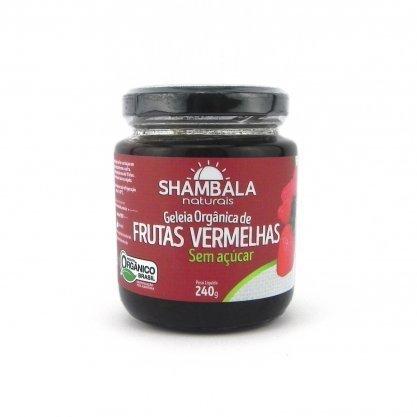 Geléia de Frutas Vermelhas Sem Açúcar Shambala