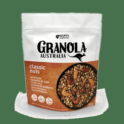 Granola Australia Classic Nuts 300g Hart's