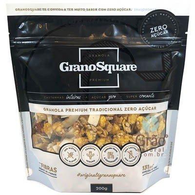 Granola Granosquare Zero Açúcar 200g