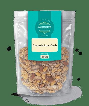 Granola Lowcarb 300g Alquimya