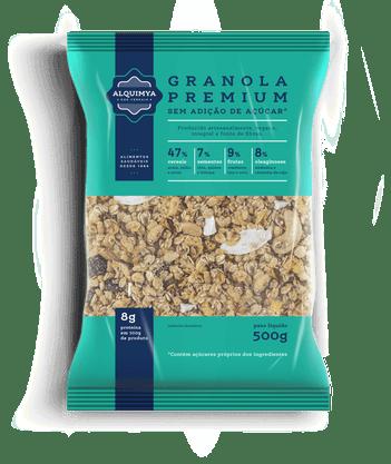 Granola Premium Sem Açúcar 500g Alquimya
