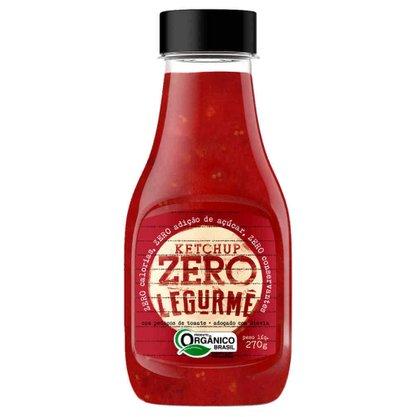 Ketchup Orgânico Zero 270g Legurme