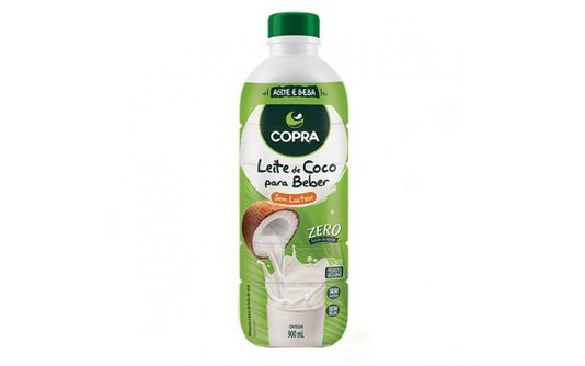 Leite de coco pronto p/ beber 900ml copra