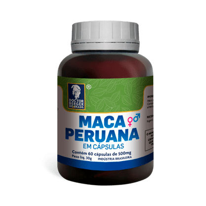 Maca peruana 500mg - 60 cap Doctor Berger
