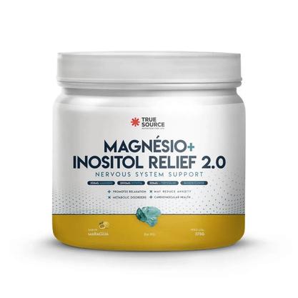 Magnésio Inositol Relief 2.0 375g True Source