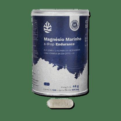 Magnésio Marinho Ocean Drop 120 caps de 400mg