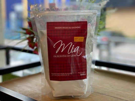 Mix de Farinhas s/ Glúten - Massas Doces ou Salgadas Mia 500g