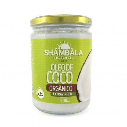 Oleo de coco 500ml organico Shambala