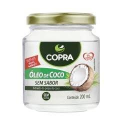 Oleo de coco refinado sem sabor 200ml Copra