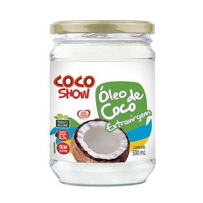 Oleo de coco s/ sabor 500ml Coco Show