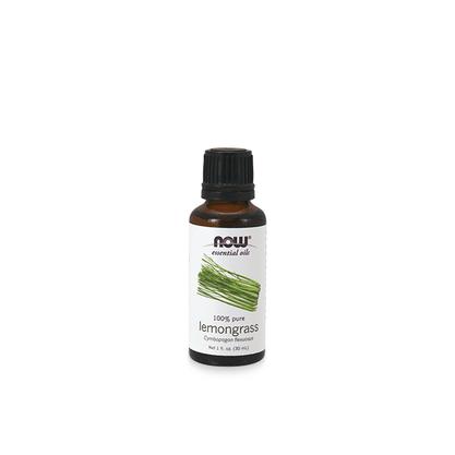 Oleo essencial de capim-limao now solutions 30ml